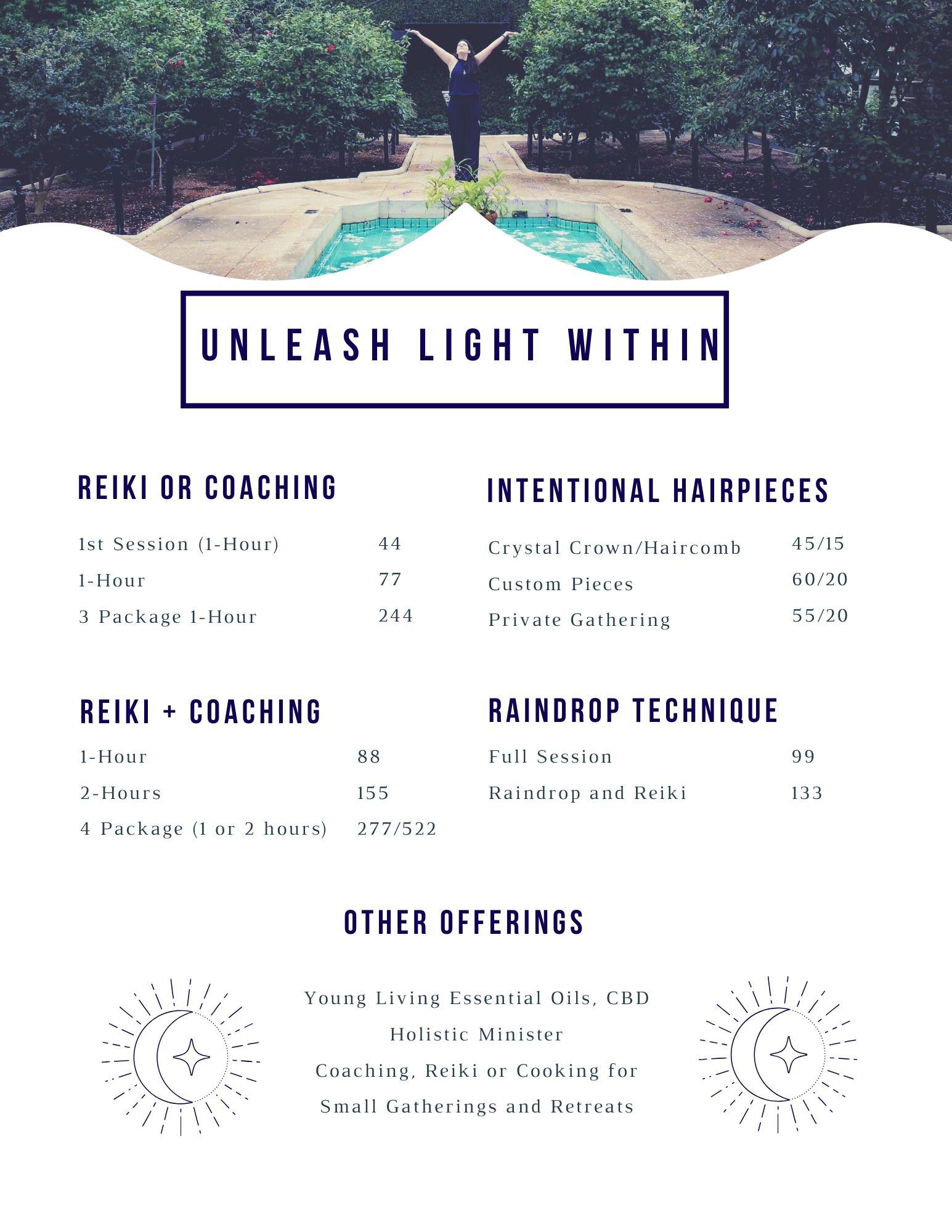 UNLEASH LIGHT WITHIN